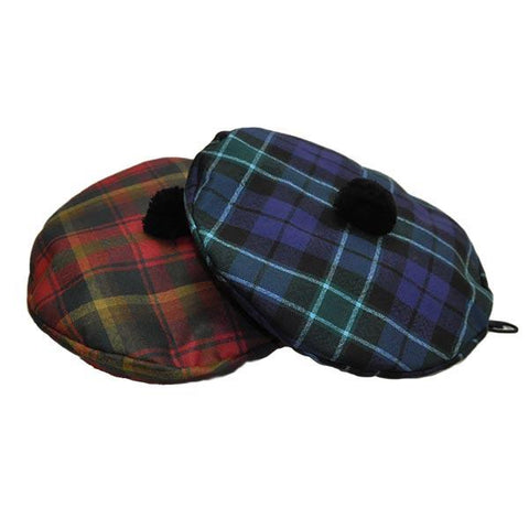 Leslie Hunting Modern Tartan Bonspiel Tam | Scottish Shop