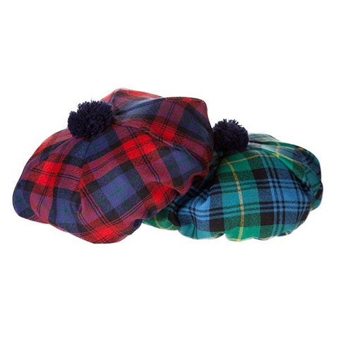 Brown Modern Tartan Tam/Hat | Scottish Shop