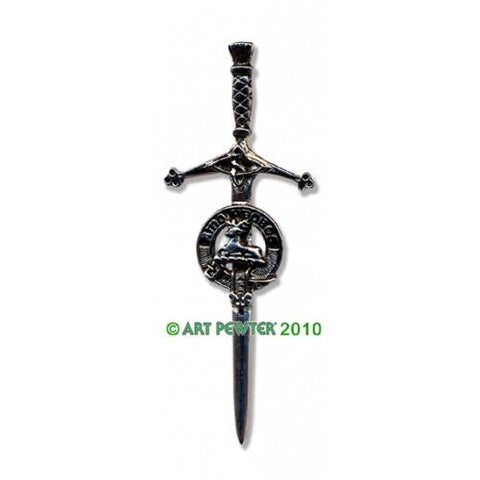 Blair Clan Crest Pewter Kilt Pin | Scottish Shop