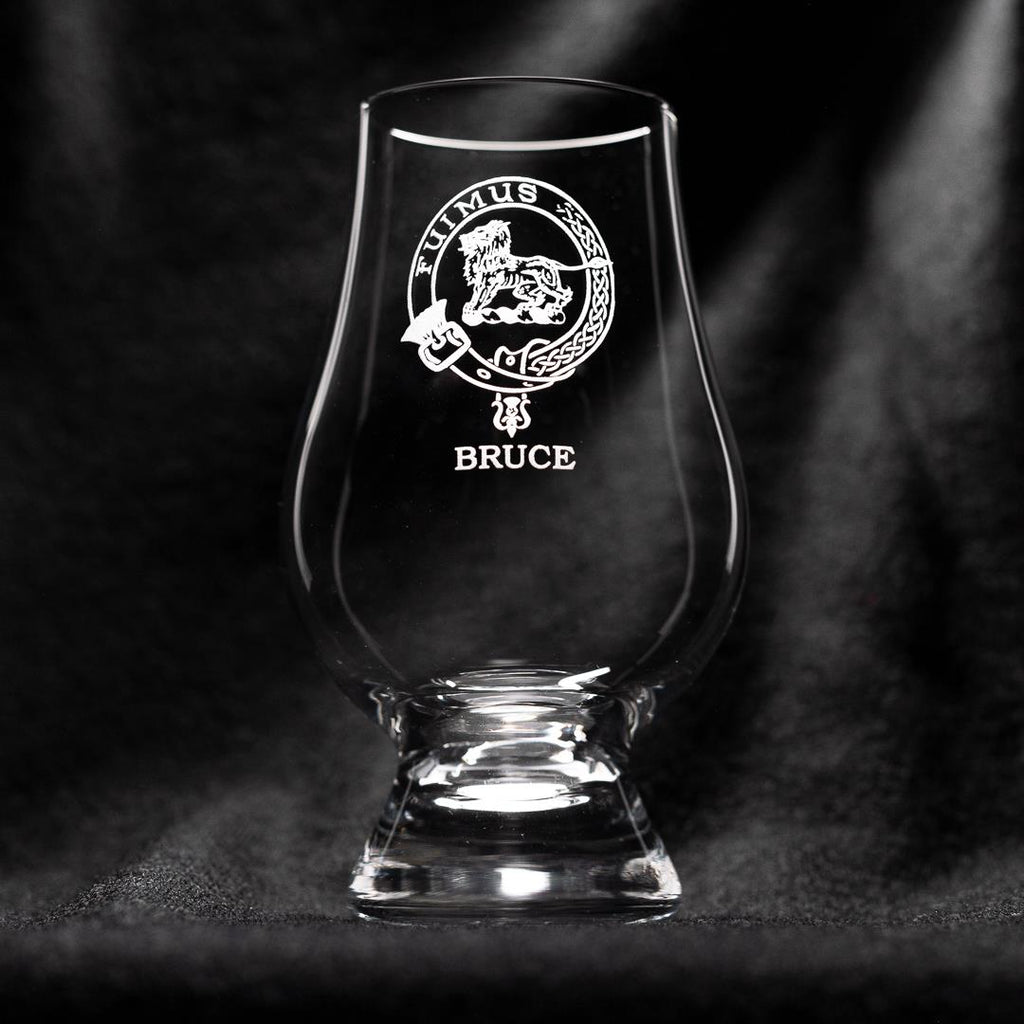 Bruce Clan Glencairn Whisky Glass | Scottish Shop