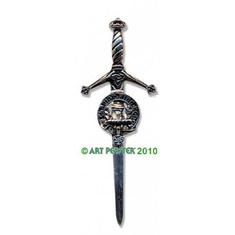 Buchanan Clan Crest Pewter Kilt Pin | Scottish Shop