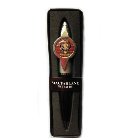 Burnett Clan Crest Pen | Scottish Shop