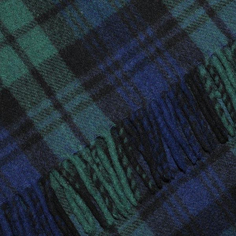 Black Watch Tartan Blanket, Throw, Rug | Scottish Shop