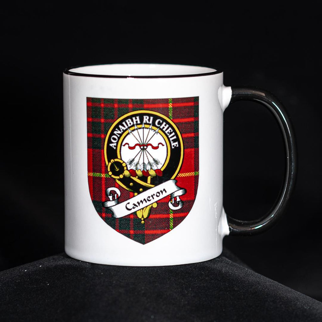 Cameron Clan Crest Mug | Scottish Shop