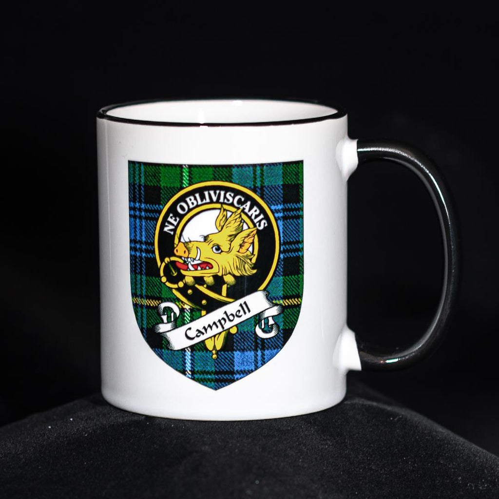 Campbell Clan Crest Mug | Scottish Shop