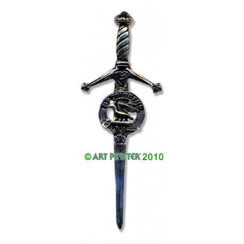 Campbell Clan Crest Pewter Kilt Pin | Scottish Shop