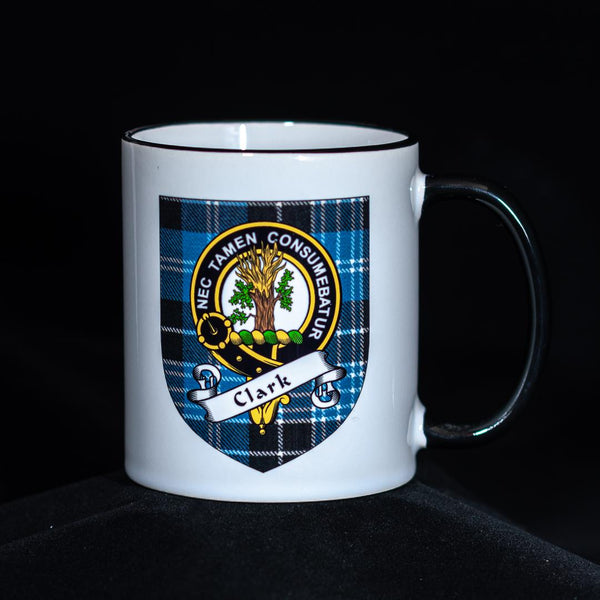 Clark Clan Crest Mug | Scottish Shop