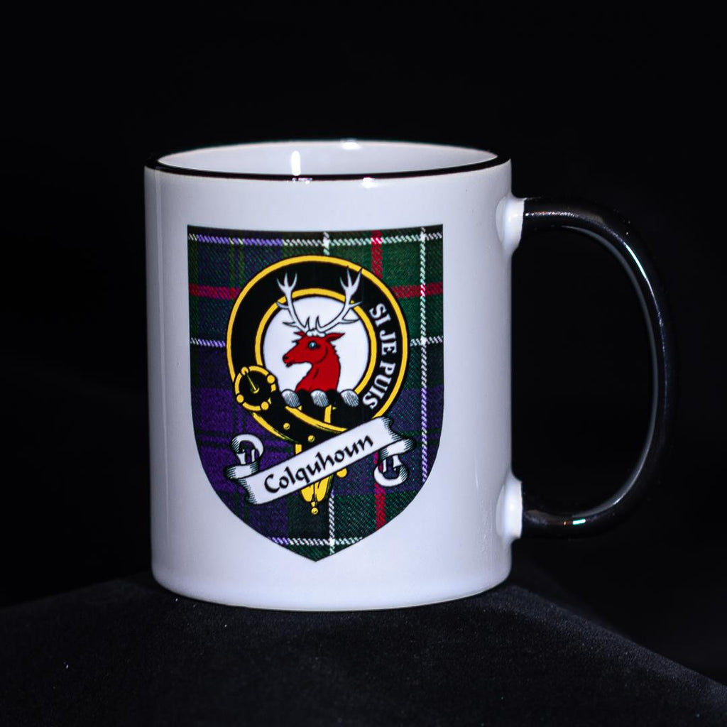 Colquhoun Clan Crest Mug | Scottish Shop