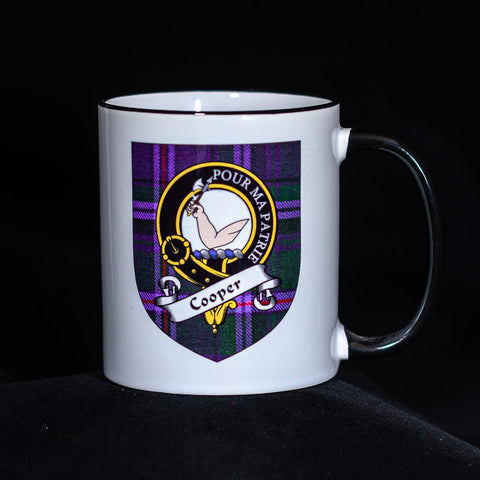 Cooper Clan Crest Mug | Scottish Shop