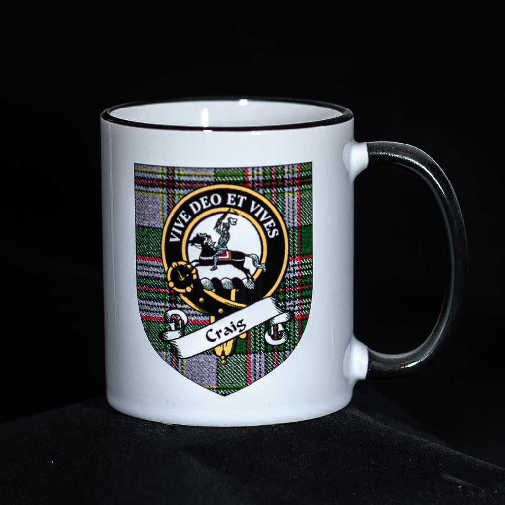 Craig Clan Crest Mug | Scottish Shop