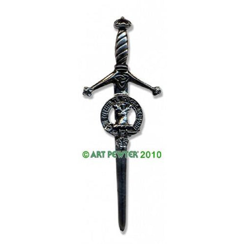Crawford Clan Crest Pewter Kilt Pin | Scottish Shop