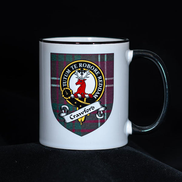 Crawford Clan Crest Mug | Scottish Shop