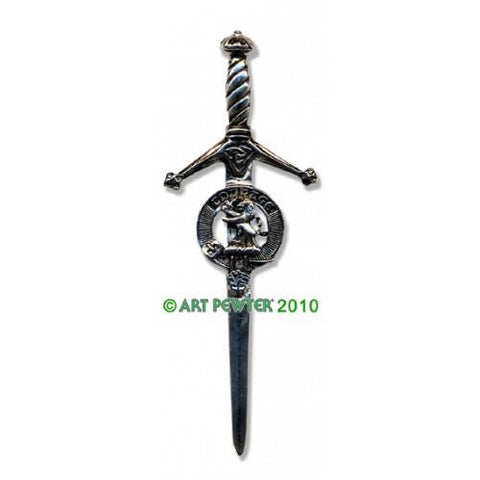 Cumming Clan Crest Pewter Kilt Pin | Scottish Shop