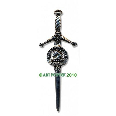 Cunningham Clan Crest Pewter Kilt Pin | Scottish Shop
