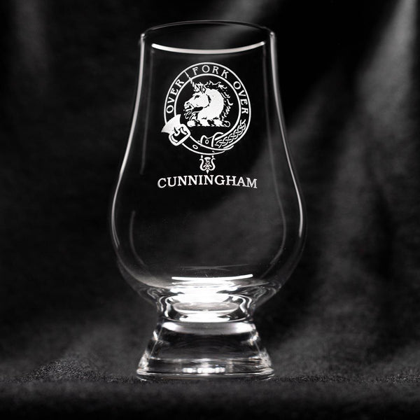 Cunningham Clan Glencairn Whisky Glass | Scottish Shop