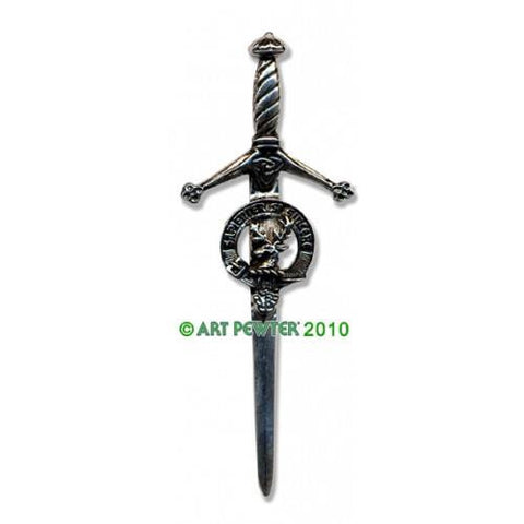 Davidson Clan Crest Pewter Kilt Pin | Scottish Shop