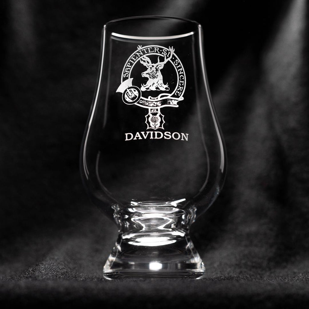 Davidson Clan Glencairn Whisky Glass | Scottish Shop