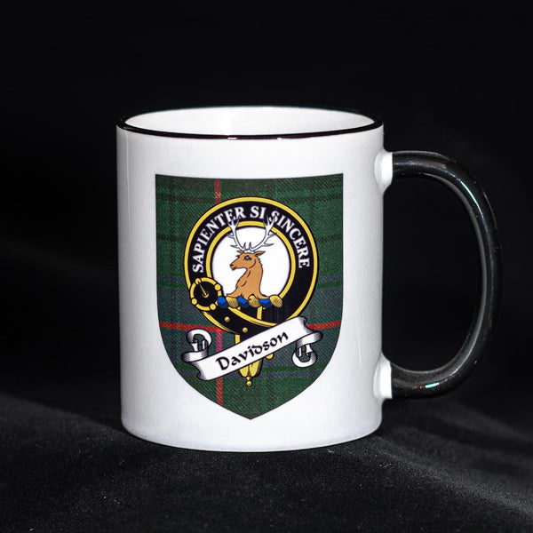 Davidson Clan Crest Mug | Scottish Shop