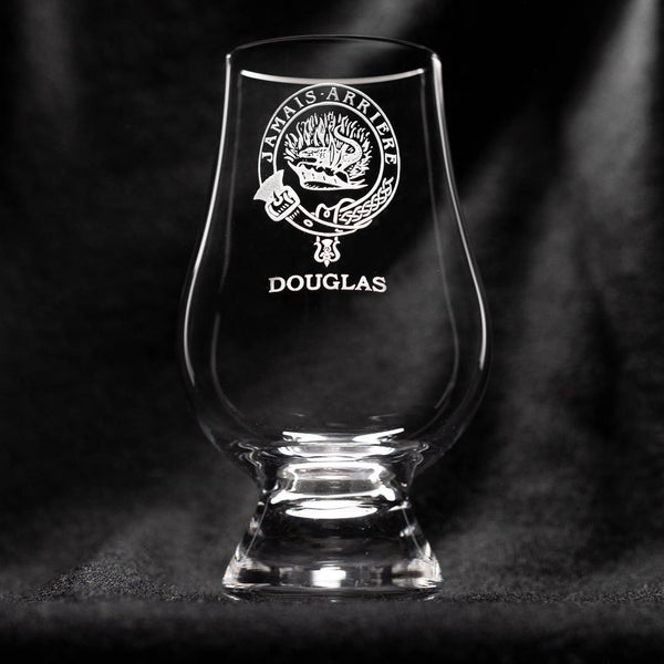 Douglas Clan Glencairn Whisky Glass | Scottish Shop