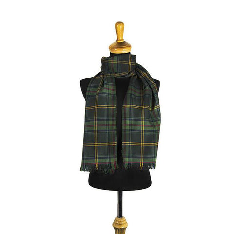 Brown Modern Tartan Scarf | Scottish Shop
