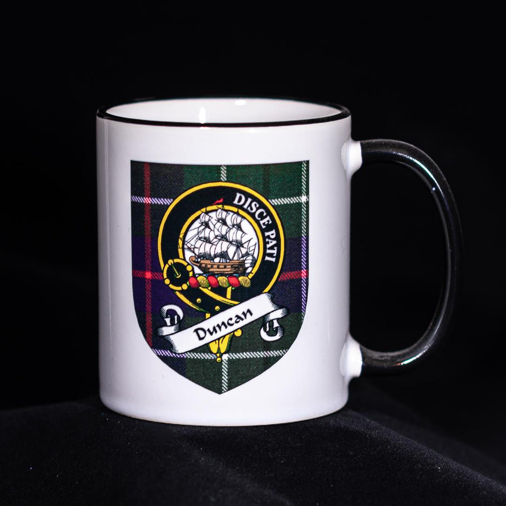 Duncan Clan Crest Mug | Scottish Shop