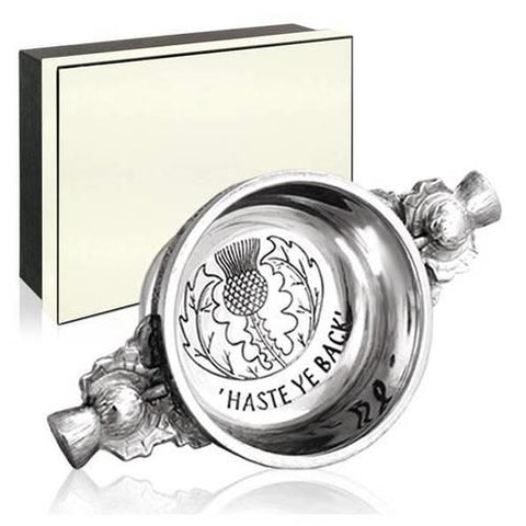 Haste Ye Back Quaich | Scottish Shop