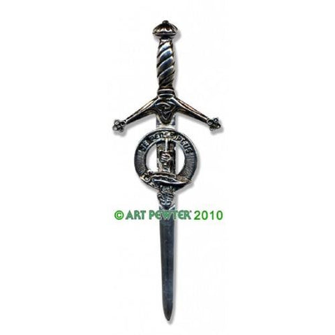 Erskine Clan Crest Pewter Kilt Pin | Scottish Shop