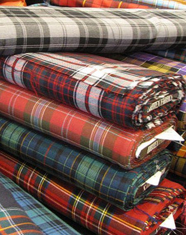 Brown Modern Tartan 11oz Cloth | Scottish Shop