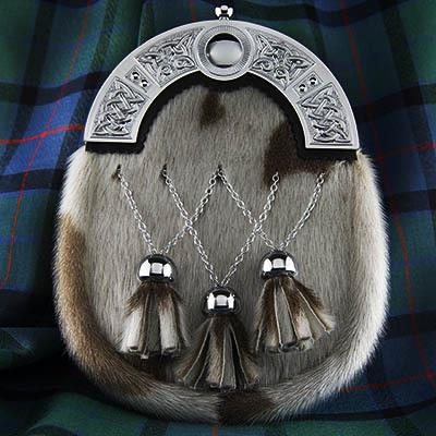 Celtic Seal Skin Formal Sporran | Scottish Shop