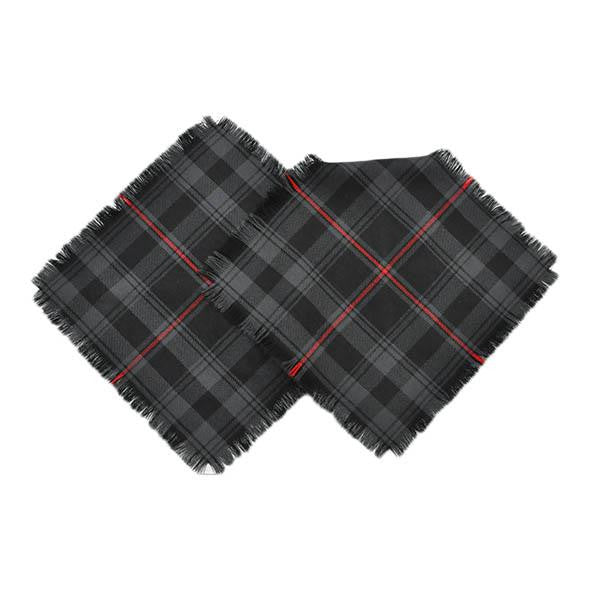Witches' Blood Tartan Pocket Square Handkerchief | Scottish Shop