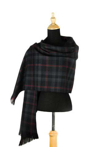 Witches' Blood Tartan Stole | Scottish Shop