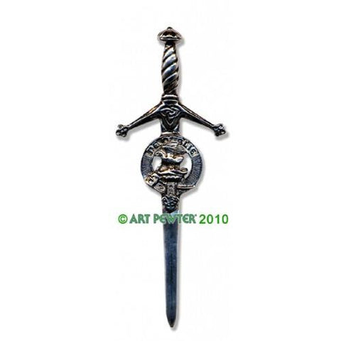 Graham Clan Crest Pewter Kilt Pin | Scottish Shop