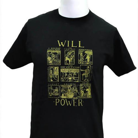 Will Power T-shirt | Scottish Shop