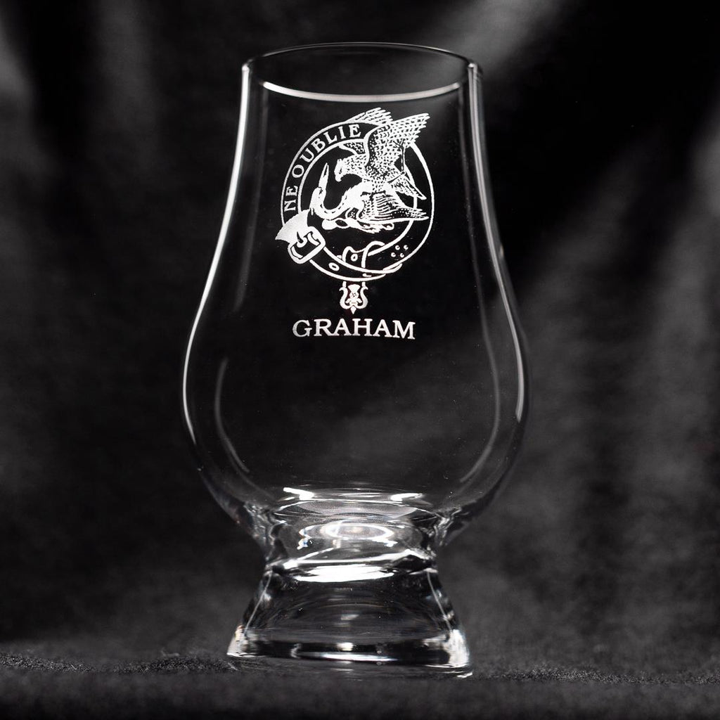 Graham Clan Glencairn Whisky Glass | Scottish Shop