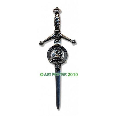 Grant Clan Crest Pewter Kilt Pin | Scottish Shop