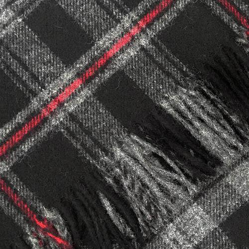 Witches' Blood Tartan Blanket, Rug | Scottish Shop