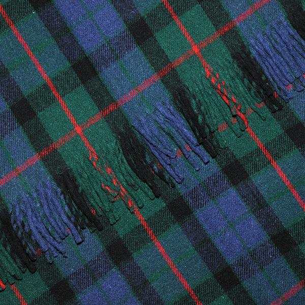 Gunn Tartan Blanket, Throw, Rug | Scottish Shop