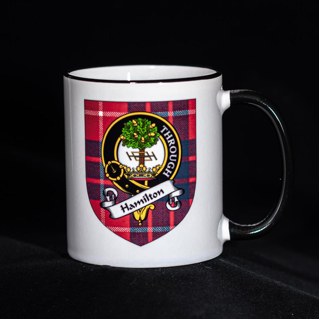 Hamilton Clan Crest Mug | Scottish Shop
