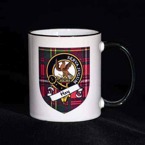 Hay Clan Crest Mug | Scottish Shop