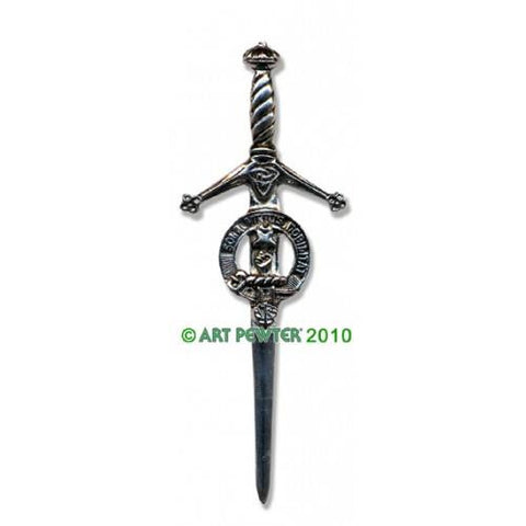 Henderson Clan Crest Pewter Kilt Pin | Scottish Shop