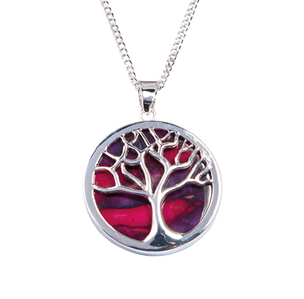 Heathergem Tree of Life Pendant | Scottish Shop