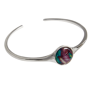 Heathergem Round Bangle | Scottish Shop