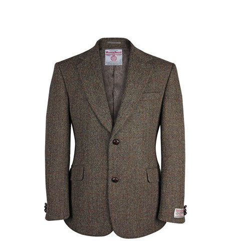 Brown Harris Tweed Jacket | Scottish Shop