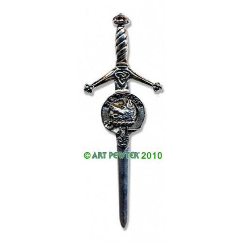 Innes Clan Crest Pewter Kilt Pin | Scottish Shop