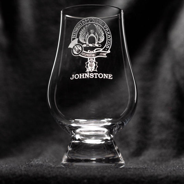 Johnstone Clan Glencairn Whisky Glass | Scottish Shop