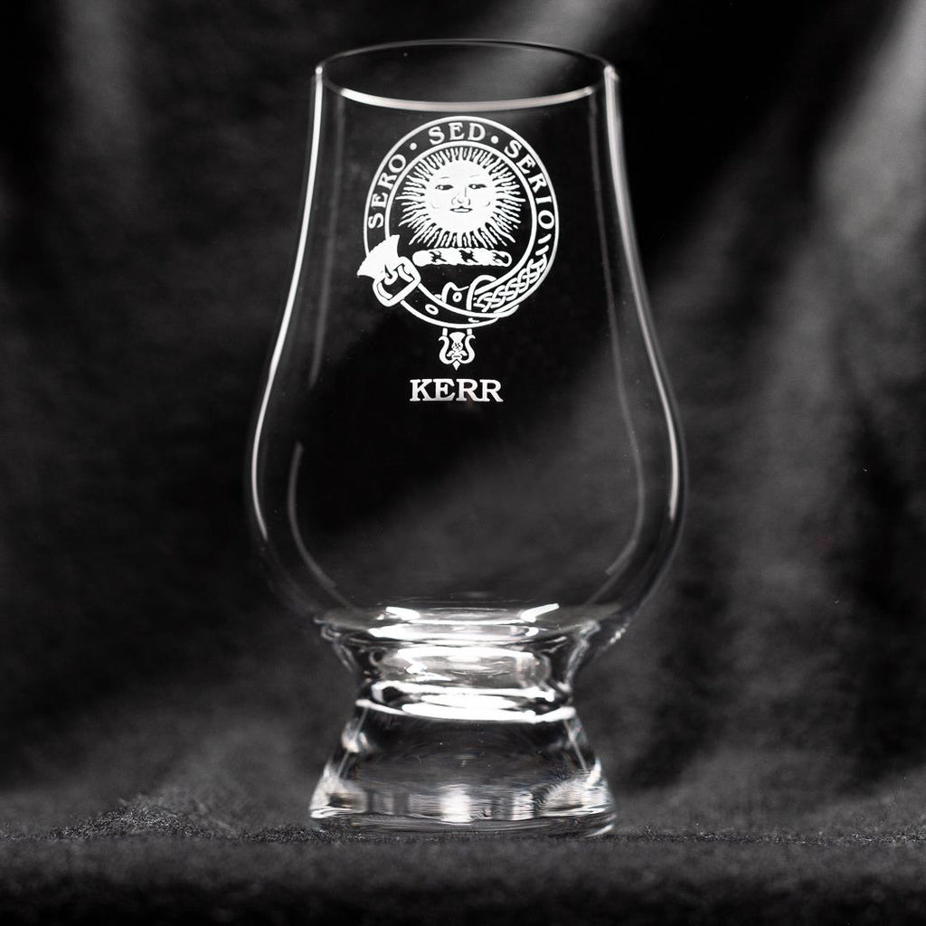 Kerr Clan Glencairn Whisky Glass | Scottish Shop