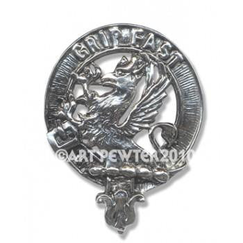 Lelie Clan Crest Badge/Brooch | Scottish Shop