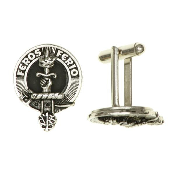 Leslie Clan Crest Cufflinks | Scottish Shop