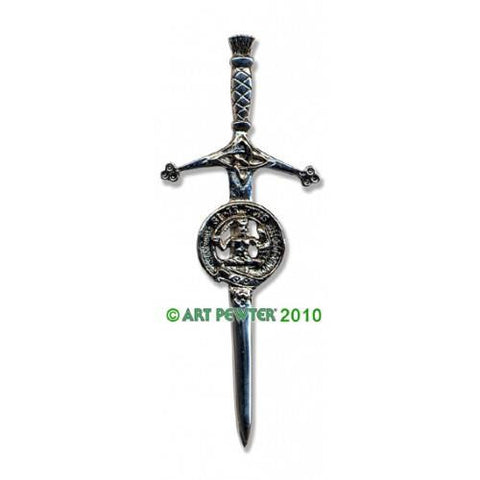 Livingston Clan Crest Pewter Kilt Pin | Scottish Shop