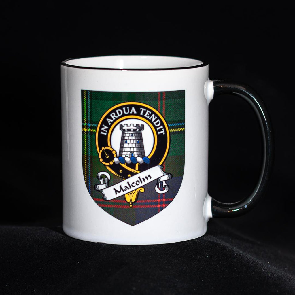 Malcolm Clan Crest Mug | Scottish Shop